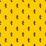 Orthodox cross pattern vector stock illustration