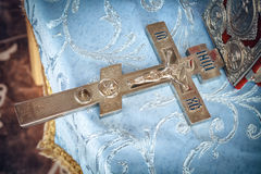 Orthodox cross Royalty Free Stock Image