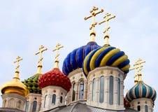Orthodox crosses Royalty Free Stock Image