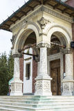 Orthodox church front entrance Stock Photos