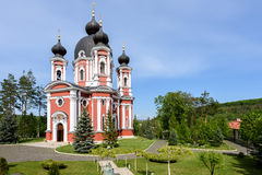 Orthodox Curchi monastery in Moldova Stock Image