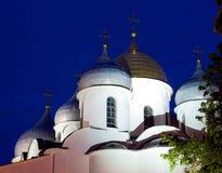 Orthodox dome cupols Stock Photo