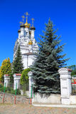 Orthodox Faith Temple, Hope, Love and their mother Sophia in the city of Bagrationovsk Stock Image