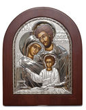 Orthodox family icon Stock Photos