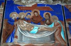 Orthodox fresco Stock Image