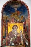 Orthodox frescoes Royalty Free Stock Photo