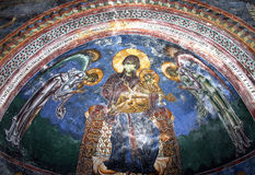 Orthodox frescoes Stock Photos