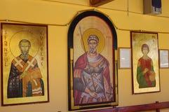 Orthodox frescos Stock Photo