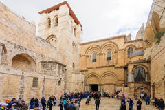 Orthodox Good Friday in Jerusalem Royalty Free Stock Photos