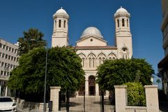 Orthodox greek cathedral. Limassol. Cyprus Stock Images