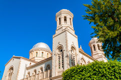 Orthodox greek cathedral. Limassol. Cyprus Stock Photos
