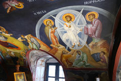 Orthodox Greek church Royalty Free Stock Photos