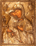 Orthodox icon. Photo of orthodox holy painting called icon Stock Photography