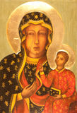 Orthodox icon - matka boska czestochowska Stock Photography