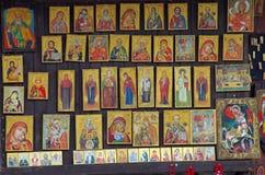 Orthodox iconography Stock Photography