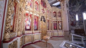 Orthodox Iconostasis in the Orthodox Church
