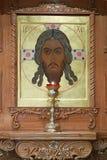 Orthodox iconostasis Stock Photo
