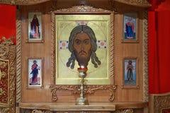 Orthodox iconostasis Stock Image