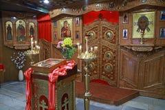 Orthodox iconostasis Royalty Free Stock Photo