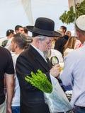 Orthodox Jew with a white beard Stock Photo