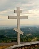 Orthodox kruis Stock Foto's