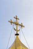 Orthodox kruis Stock Afbeelding