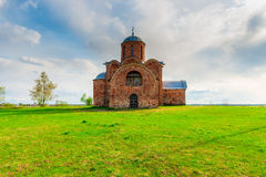Orthodox medieval church Royalty Free Stock Image