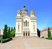 Orthodox Metropolitan Cathedral Cluj Napoca Royalty Free Stock Images