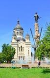 Orthodox Metropolitan Cathedral Cluj Napoca Stock Photo