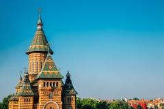 Free Orthodox Metropolitan Cathedral In Timisoara, Romania Royalty Free Stock Image - 175575736
