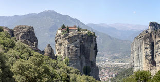 Orthodox monasteries of Meteora Greece Stock Image