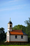 Orthodox monastery. Small orthodox church in a beautiful landscape Royalty Free Stock Photos