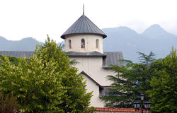 Orthodox monastery 13 century, Montenegro Stock Photo