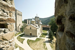 Orthodox Monastery. 15 century, Serbia Stock Photography