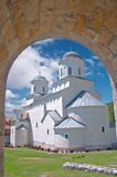 Orthodox Monastery Stock Photo