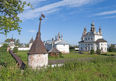 Orthodox Monastery of Archangel Michael in Yuriev-Polsky Royalty Free Stock Photos