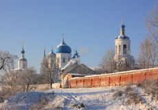Orthodox monastery in  Bogolubovo. Russia Royalty Free Stock Photography