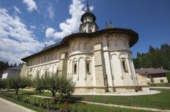 Orthodox monastery in Bucovina Stock Photos