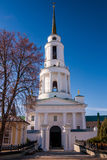 Orthodox monastery building Stock Photography