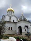 Orthodox monastery charch stock photo