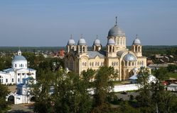 Orthodox monastery church Royalty Free Stock Photos
