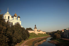 Orthodox monastery church Royalty Free Stock Images