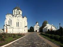 Orthodox monastery church Royalty Free Stock Photos