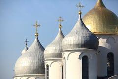 Orthodox monastery church Stock Images