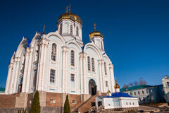 Orthodox monastery church Stock Photos