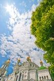 Orthodox Monastery Domes, Kiev, Ukraine Royalty Free Stock Images