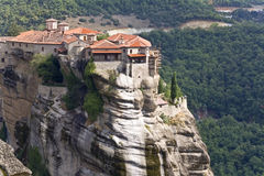 Orthodox, monastery in Greece Stock Photos