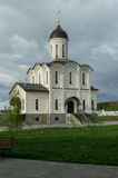 Orthodox monastery in honor of the Mother of God Vladimir in the Kaluga region in Russia. Stock Photo