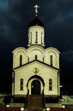 Orthodox monastery in honor of the Mother of God Vladimir in the Kaluga region in Russia. Stock Photography