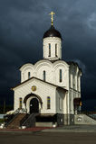 Orthodox monastery in honor of the Mother of God Vladimir in the Kaluga region in Russia. Royalty Free Stock Photos
